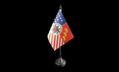 Bandiera da tavolo USA City of Detroit