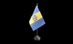 Bandiera da tavolo USA City of Filadelfia
