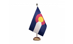 Bandiera da tavolo USA Colorado