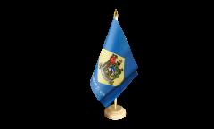 Bandiera da tavolo USA Delaware