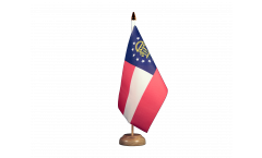 Bandiera da tavolo USA Georgia