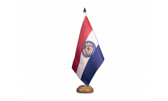 Bandiera da tavolo USA Missouri