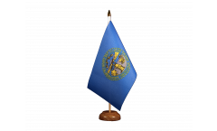 Bandiera da tavolo USA Nebraska
