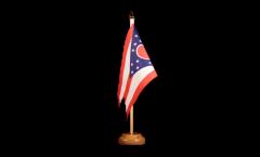 Bandiera da tavolo USA Ohio