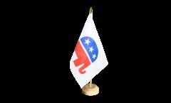 Bandiera da tavolo USA Repubblicani Republicans