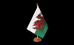 Bandiera da tavolo Galles