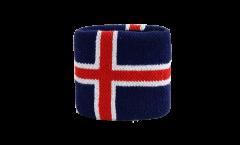 Fascia di sudore Islanda - 7 x 8 cm