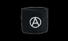 Fascia di sudore Anarchy Anarchia - 7 x 8 cm