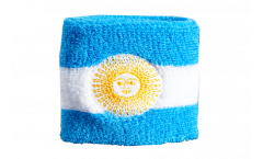 Fascia di sudore Argentina con Sol de Mayo - 7 x 8 cm