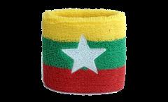 Fascia di sudore Myanmar nuova - 7 x 8 cm
