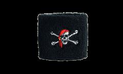 Fascia di sudore Pirata con bandana - 7 x 8 cm