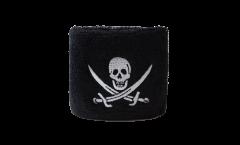 Fascia di sudore Pirata con due spade - 7 x 8 cm