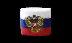 Fascia di sudore Russia con stemma - 7 x 8 cm